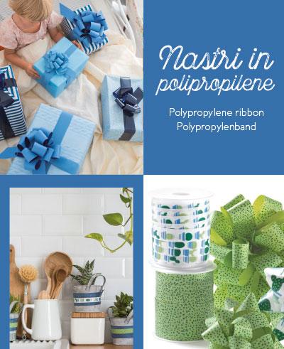 CATALOGO GENERALE / Nastri polipropilene