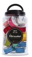 nastri, stelle, coccarde ribbon in a jar