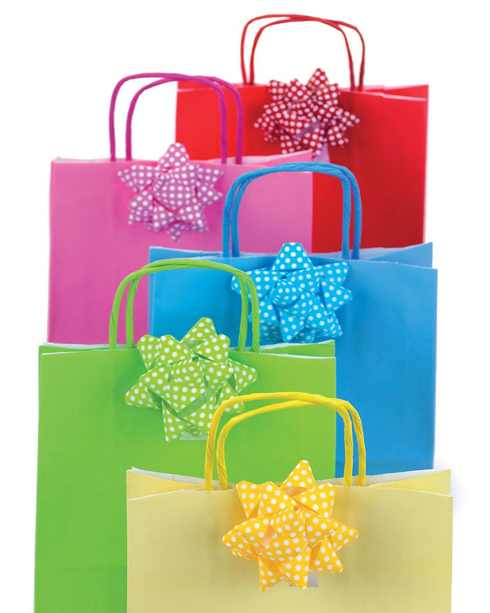 coccarde e shopper coordinate