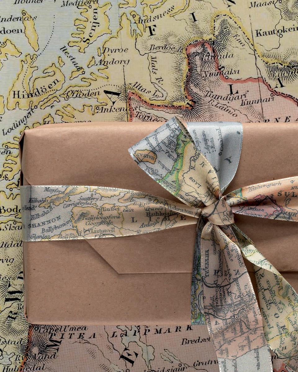 nastri decorativi tuo mappe