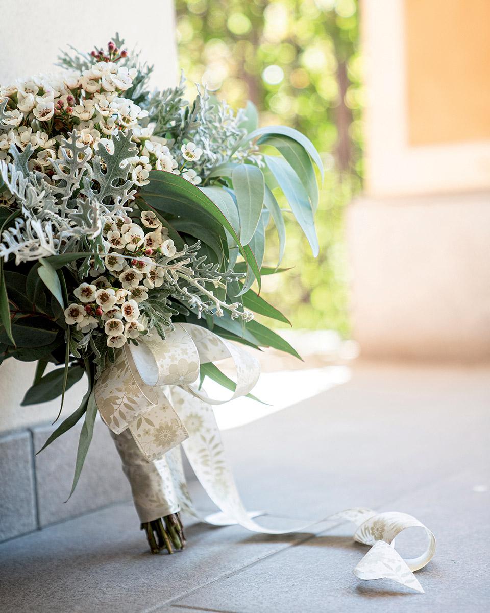 nastro per bouquet sposa